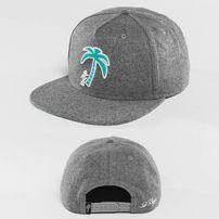 Just Rhyse Palm Desert Snapback Cap Grey