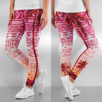 Just Rhyse Pattern Leggings Colored