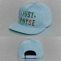 Just Rhyse Plant Logo Snapback Cap Blue