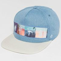 Just Rhyse / Snapback Cap Acocollo in blue