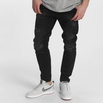 Just Rhyse / Straight Fit Jeans Destroyed in black