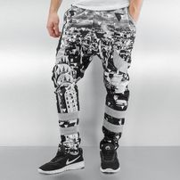 Just Rhyse Triangle Sweatpants Grey/Black