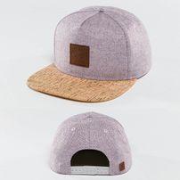 Just Rhyse Wood Rhyser Snapback Cap Purple