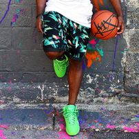 K1X Oahu Chino Shorts Tropical 1400-0225-9036