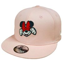 Kids New Era 9Fifty Youth Minnie Mouse Disney Exression Pink