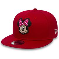Kids New Era 9Fifty Youth Minnie Mouse Disney Red