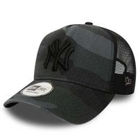 Kids New Era 9Forty Youth A Frame Trucker NY Yankees Washed Camo