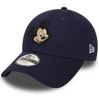 Kids New Era 9Forty Youth Disney Patch Mickey Mouse Navy