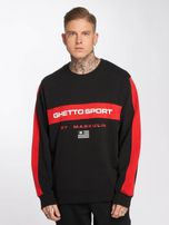 Maskulin / Jumper Ghetto Sport in black