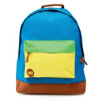 Mi-Pac Classic Tri-Tone Backpack Blue Yellow Green
