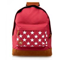 Mi-Pac Pocket Prints Stars Backpack Burgundy