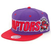 Mitchell & Ness Logo & Wordmark Raptors Snapback