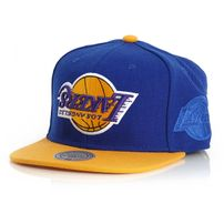 Mitchell & Ness NBA Upside Down LA Lakers Blue