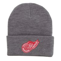 Mitchell & Ness NHL Team Logo Cuff Knit Beanie Detroit Red Wings