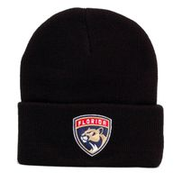 Mitchell & Ness NHL Team Logo Cuff Knit Beanie Florida Panters