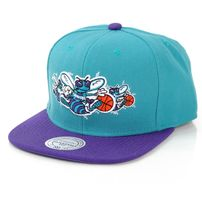 Mitchell & Ness Triple Stack Charlotte Hornets Snapback MN-NP57Z
