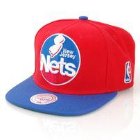 Mitchell & Ness XL Logo New Jersey Nets 2 Tone Snapback