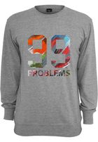 Mr. Tee 99 Problems Art Crewneck grey