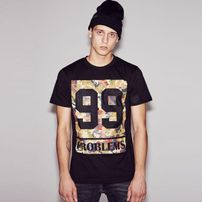 Mr. Tee 99 Problems Block Camo Tee black