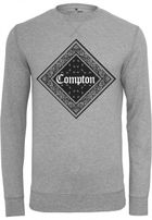 Mr. Tee Compton Bandana Crewneck h.grey