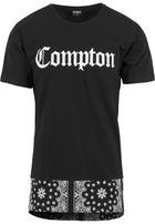 Mr. Tee Compton Extended Bandana Long Tee black