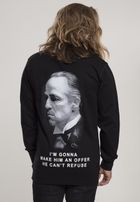 Mr. Tee Godfather Refuse Crewneck black