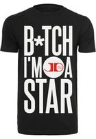 Mr. Tee Jason Derulo B*tch I´m A Star Tee black