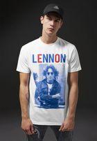 Mr. Tee John Lennon Bluered Tee white