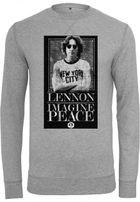 Mr. Tee John Lennon Imagine Crewneck heather grey