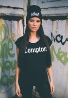 Mr. Tee Ladies Compton Tee black