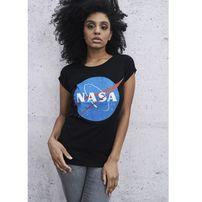 Mr. Tee Ladies NASA Insignia Tee black