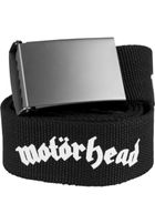 Mr. Tee Motörhead Canvas Belt black