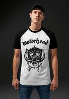Mr. Tee Motörhead Everything Louder Raglan Tee wht/blk