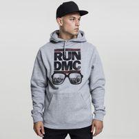 Mr. Tee RUN DMC City Glasses Hoody heather grey
