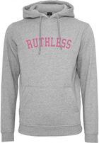 Mr. Tee Ruthless Hoody heather grey
