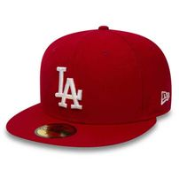 New Era 59Fifty Essential LA Dodgers Red White