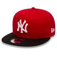New Era 9Fifty Cotton Block NY Yankees Snapback Red