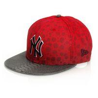 New Era 9Fifty Jungle Mash NY Yankees Red Brown