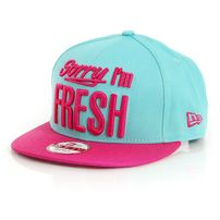 New Era 9Fifty Sorry Iam Fresh Cap Light Green