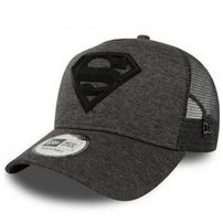 New Era 9Forty A Frame Trucker Superman Concrete Jersey Graphite
