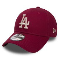 New Era 9Forty MLB League Essential LA Dodgers Cardinal Red