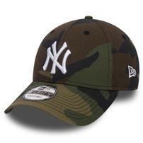 New Era 9Forty MLB League Essential NE Yankees Camo White