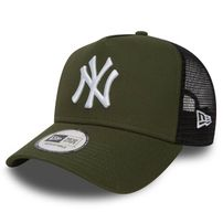 New Era 9Forty Trucker A-Frame NY Yankees Rifle Green