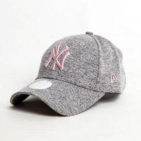 New Era 9Forty Woman Tech Jersey NY Grey Pink