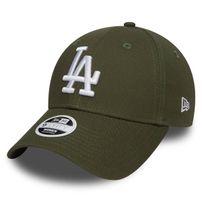 New Era 9Forty Womens Essential LA Dodgers Rifle Green
