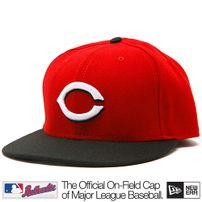 New Era Authentic Cincinnati Reds Cap Road Cap