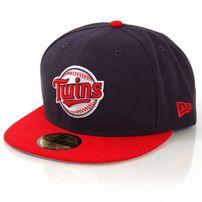 New Era Baycik Alt Minnesota Twins Black Cap