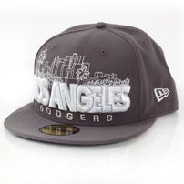 New Era City Serie Word LA Dark Graphity Cap