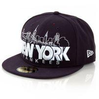 New Era City Serie Word New York Black Cap
