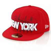 New Era City Serie Word New York Red Cap